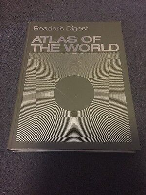 Readers Digest Atlas Of The World First Ed 1981