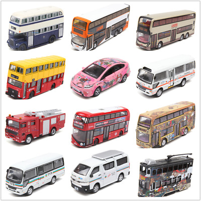 Tiny Hong Kong Special Diecast Car Model Toyota Coaster Firt Engine Bus 61-90