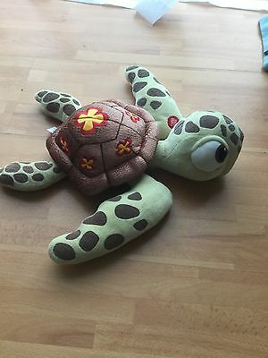 Disney store Finding Nemo Talking Squirt Baby Turtle