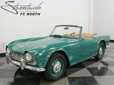 1963 Triumph TR4  RARE TR4! LARGELY ORIGINAL & READY TO BE ENJOYED NOW OR TAKEN TO THE NEXT LEVEL