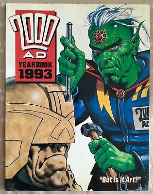 2000ad Yearbook 1993