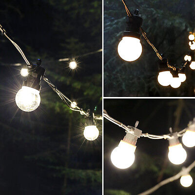 CONNECTABLE ConnectPro OUTDOOR GARDEN CHRISTMAS FESTOON BULB LED STRING LIGHTS