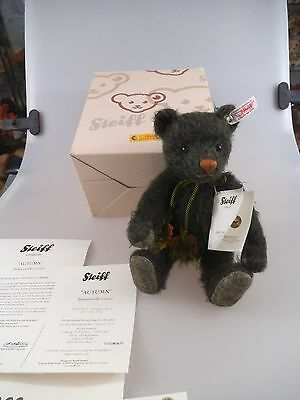Steiff Teddy Autumn 664212 exclusive to UK & Ireland 26cm (836)