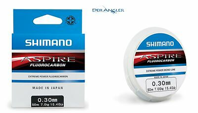 Shimano Aspire Fluocarbon 50m 0,37mm (m 0,23€) Fluorocarbon Made in Japan NEW