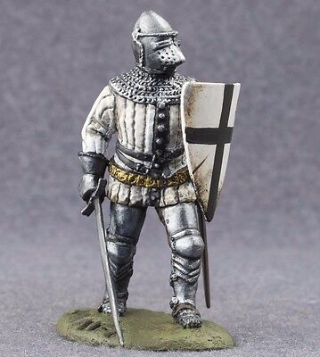 Metal Toy Soldiers Knight of the Teutonic Order Painted 1/32 scale Tin 54mm