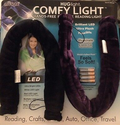 Hug Light Comfy Led Light Hands Free Flexible Reading Light