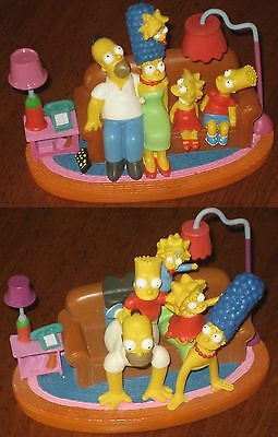 "Hamilton Simpsons Couch Gags Diorama - 2-PAC -""Couch Pyramid"" & ""Couch Classic"""