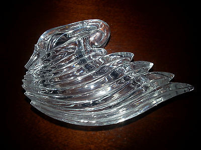 Crystal Swan Trinket Holder