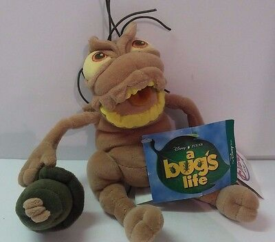 Disney Store P.T. Flea A Bug's Life stuffed animal toy boys girls NWT NEW 10""