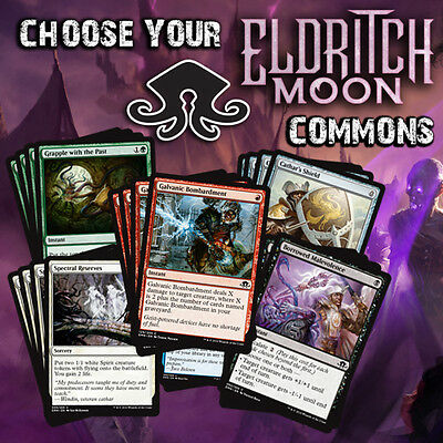Choose Your Eldritch Moon Common Playset (x4 cards) - MTG M/NM EMN
