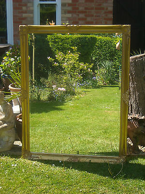 A Substantial Gilt Plaster Rococo Style Contemporary Wall Mirror