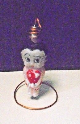 c-6 Betty Boop Painted Milk Glass Christmas Light NON-Working Lot #KK