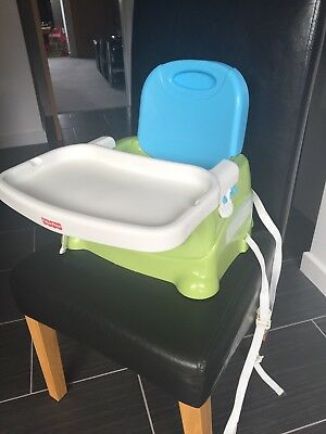 Fisher Price Portable High Chair Booster Seat