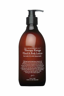 The Aromatherapy Co. - Therapy Range - Hand & Body Lotion 500Ml - Lavender & Wil