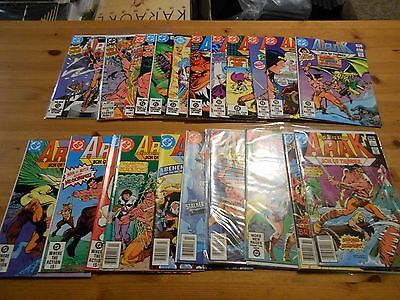24x 1981- 1985 DC Comics ARAK SON OF THUNDER ( 1 -14 ) 17 20 21 23 24 27 30 40
