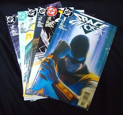 Space Ghost #1-6 of 6 COMPLETE MINI SERIES SET! DC Comics 2005 Alex Ross Covers