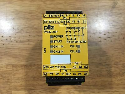 PILZ Safety Relay PNOZ X8P