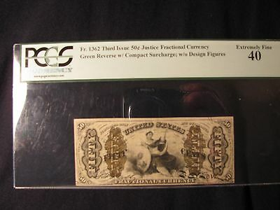 1863 50 Cents Fractional Currency Fr. 1362 Third Issue **free Shipping**