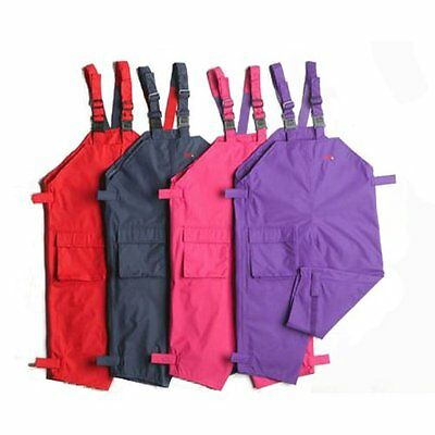 TOGZ WATERPROOF DUNGAREES BLUE PINK RED PURPLE 1-10 yrs