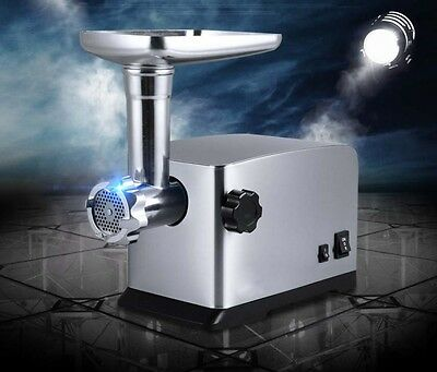 Commercial Electric Stainless Steel Meat Grinder Sausage Multifunctional Mincer