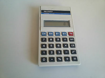 Calcolatrice Sharp El 230 Elsi Mate Vintage Made In Japan Funzionante Working