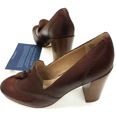 Wholesale Case of 12 - Land's End Stowe Cordovan Brown High Heel Shoes w/Tassels