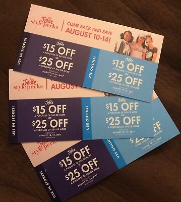 Justice coupons 15 off