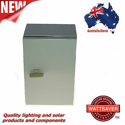Enclosure Box - weather proof - steel - large - hinged door - Freight Free