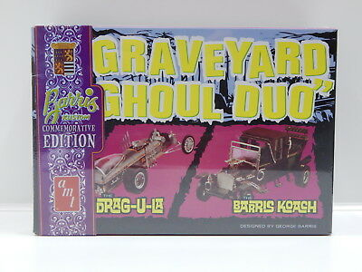 "1:25 ""Grave Yard Ghoul Duo"" - The Drag-u-la and The Barris Koach - 2 Kits in 1 B"