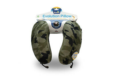 Cabeau Evolution Pillow - Memory Foam Travel Neck Pillow - Camouflage
