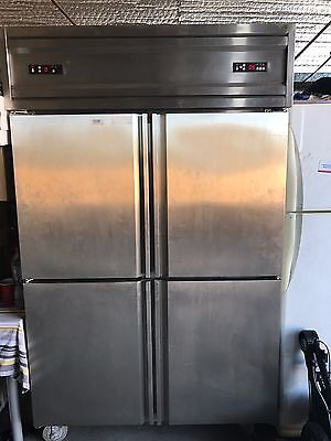 Commercial Stainless Steel Fridge