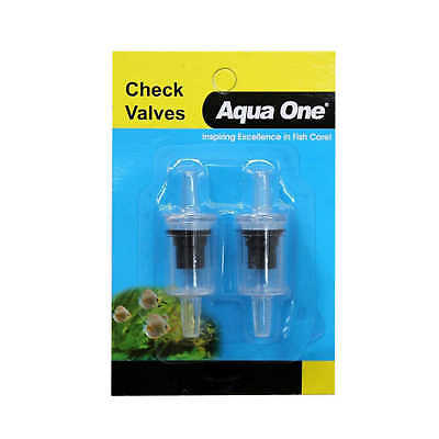 Aquarium Airline Check Valve 2 Pack 10122 Fish Tank Aqua One