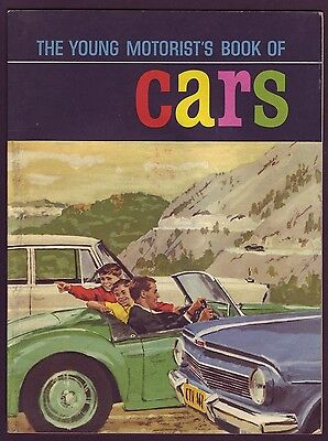 1962 • Sanitarium Young Motorist's Book Of Cars • Part Set in Book