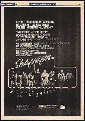 SHA NA NA__Original 1977 Trade Print AD / poster__TV series promo__Grease__music