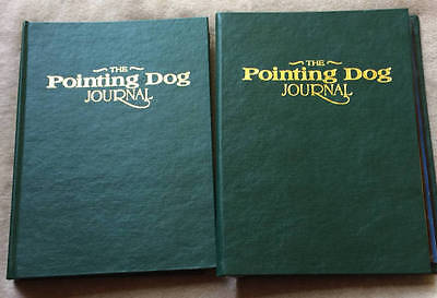 The Pointing Dog Journal, Lot of 8 in 2 Binders, 1994 1995 1996