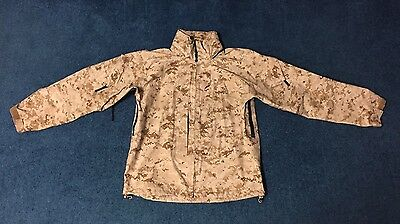 USMC Gore-Tex, Desert MARPAT, Jacket, Lightweight Exposure Size: Medium Regular