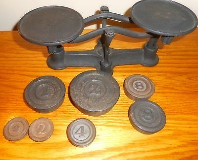 Vintage Scale and Weights Hardware General Store Great Condition!
