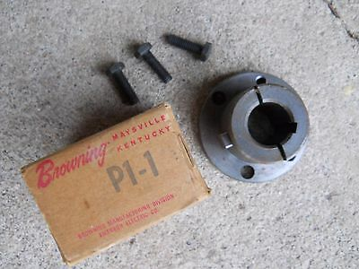 "Browning P1-1 Split Taper Bushing 1"" Bore With Keyway"
