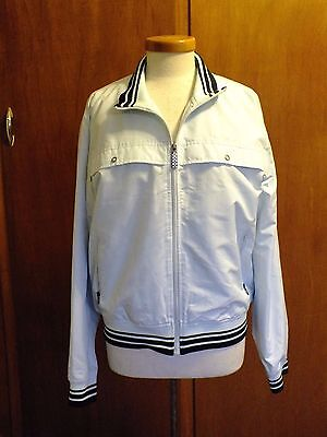 * Vintage Mens Pale Blue Ben Sherman Windbreaker Jacket. Size L