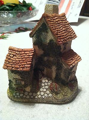 Ivy Cottage by David Winter   Ivy Cottage   1982 Hand Made & Painted;vintage,old