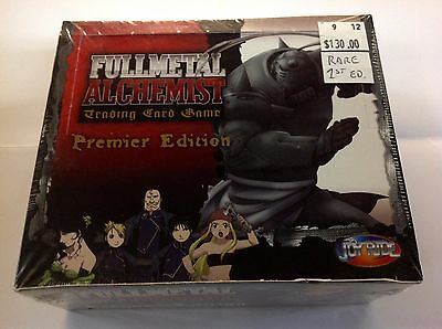 Fullmetal Alchemist TCG Premiere Edition Factory Sealed Box! 30 Booster Packs!