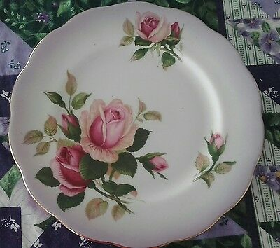 Royal Albert English Beauty Purple Bread and Butter Plate