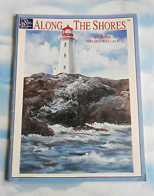 ALONG  THE  SHORES by Diane Nielson Wallace - Folk Art Book #495 ~ 2000 SC