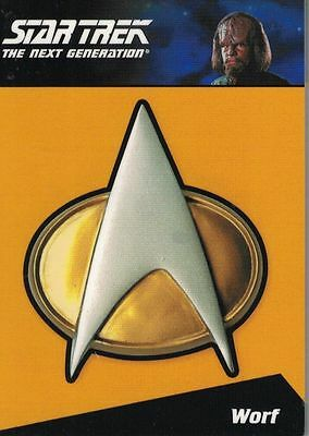 Star Trek TNG Complete (2012) Pin CP7  290/300 Relic