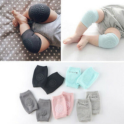 Kids Soft Anti-slip Elbow Cushion Crawling Knee Pad Infant Toddler Baby Safety h