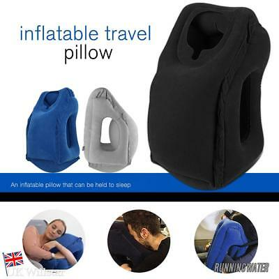 Inflatable Portable Travel Air Pillow Air Cushion Neck Head Flight Rest Support