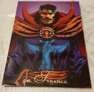 Marvel Flair #12 DOCTOR STRANGE 1994 Flair Trading Card