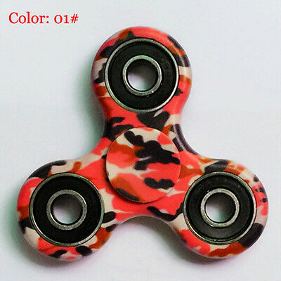 3D Camo Fidget Hand Spinner EDC Focus Toys ADD ADHD anxiety For Kids US STOCK CB