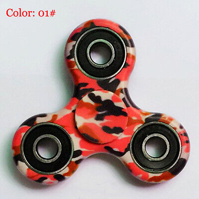 3D Camo Fidget Hand Spinner EDC Focus Toys ADD ADHD anxiety For Kids US STOCK 01