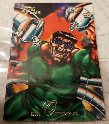 Marvel Flair #9 DOCTOR OCTOPUS 1994 Flair Trading Card